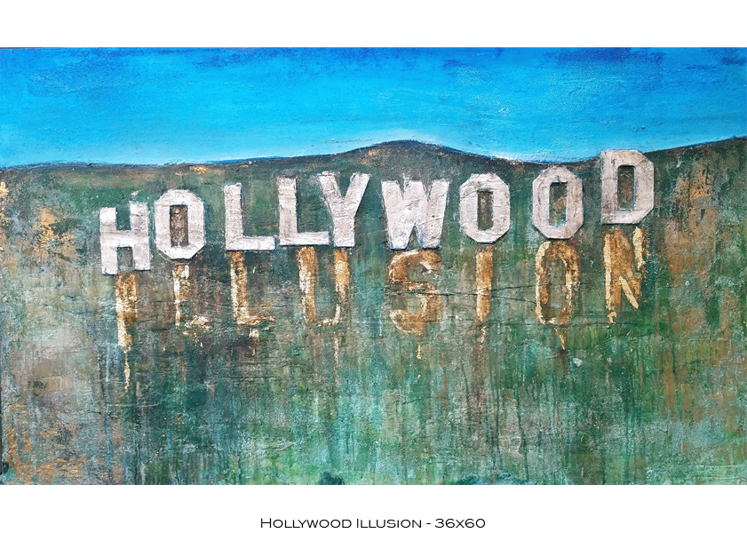 Hollywood Illusion - 36x60