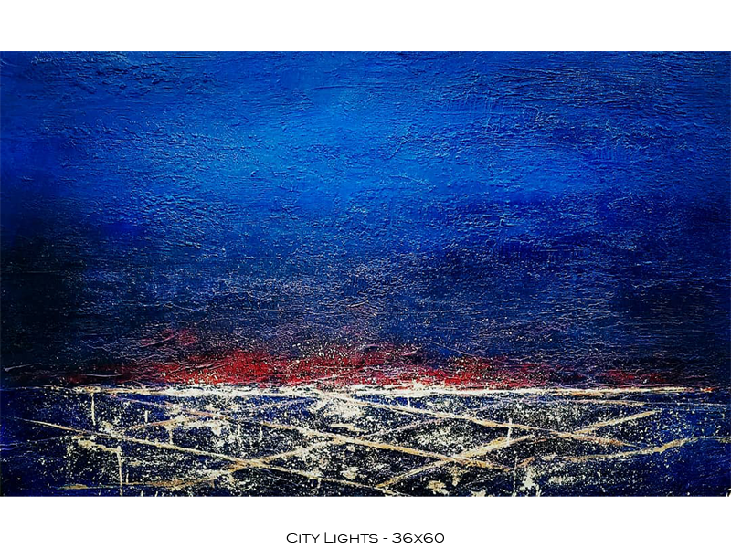 City Lights - 36x60